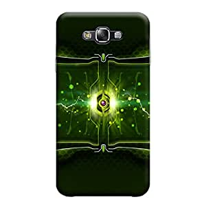 Ebby Premium Printed Mobile Back Case Cover With Full protection For Samsung E5 (Designer Case)