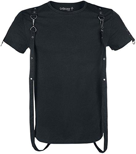 Gothicana by EMP Bondage T-Shirt T-Shirt nero XXL