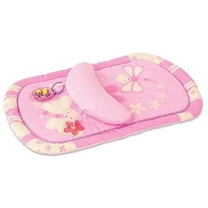 Bright Starts Tummy Prop & Play Mat, Pretty in Pink
