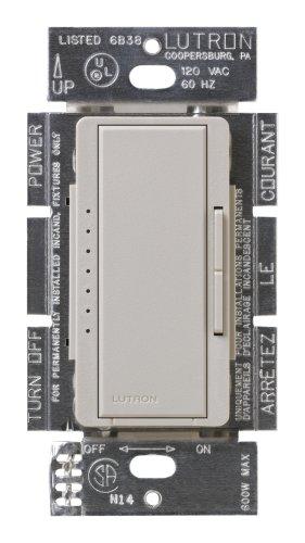 Lutron Msc-600M-Tp Maestro 600-Watt Multi-Location Dimmer Taupe