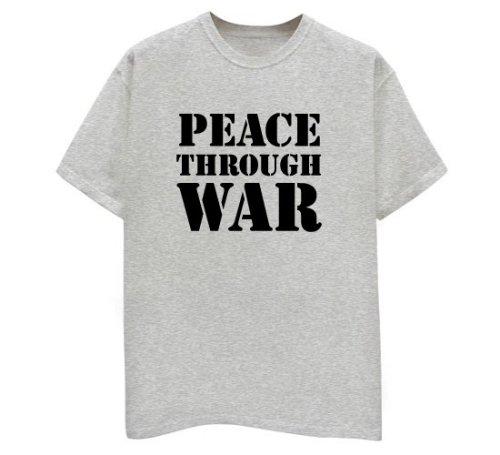 Peace Through War - Buy Peace Through War - Purchase Peace Through War (Direct Source, Direct Source Shirts, Direct Source Womens Shirts, Apparel, Departments, Women, Shirts, T-Shirts)