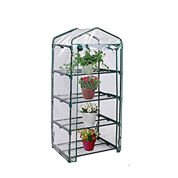 Blissun 4 Tier Mini Greenhouse, 27