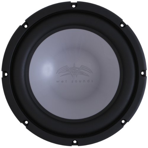 "Wet Sounds Xs Series 12"" 4 Ohm Silver High Performanc Marine Subwoofer - 1000 Watts Max / 500 Watts Rms"