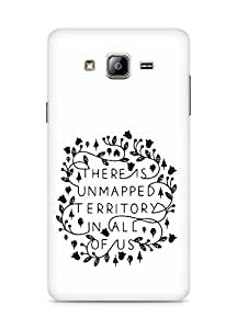 AMEZ there is unmapped territory in all of us Back Cover For Samsung Galaxy ON5