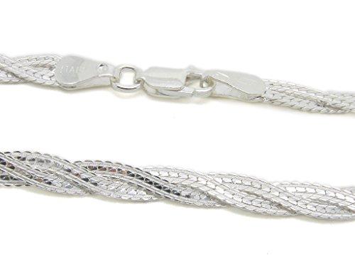 Amberta bijoux collier cha ne argent 925 1000 for Miroir 50 mm