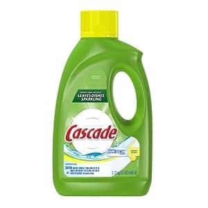 cascade gel dishwasher detergent with extra bleach action lemon scent 75 ounce. Black Bedroom Furniture Sets. Home Design Ideas