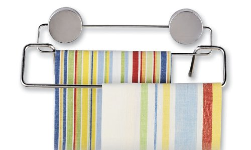 Better Houseware 2409 Magnetic Double Towel Bar, Stainless (Stainless Steel Bar Fridge compare prices)