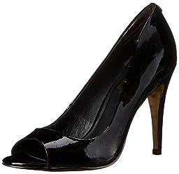 Ted Baker Women\'s Ilyey Dress Pump, Black Patent, 8 M US