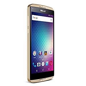 BLU Energy Diamond - 3G SIM-Free Smartphone - 4,000mAh Super Battery -Gold