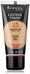 Rimmel Lasting Finish 25 Hour Liquid Foundation Soft Beige