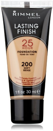 Rimmel Lasting Finish 25 Hour Liquid Foundation Soft Beige
