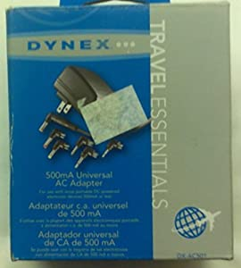 Dynex 500ma Universal AC Adapter