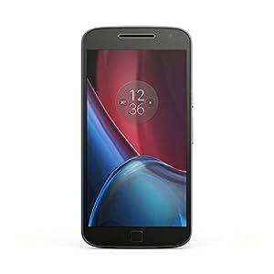 Lenovo Moto G4 Plus Smartphone débloqué 4G (Ecran: 5,5 pouces - 16 Go - 2 Go RAM - Android 6.0) Noir