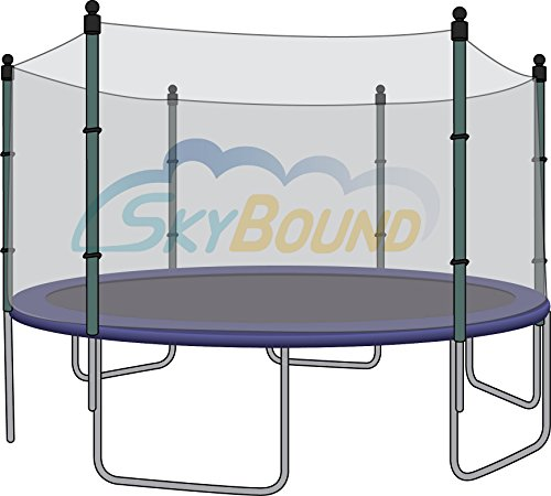 12-Trampoline-Enclosure-Safety-Net-for-6-Straight-Poles-fits-Airzone-Variflex