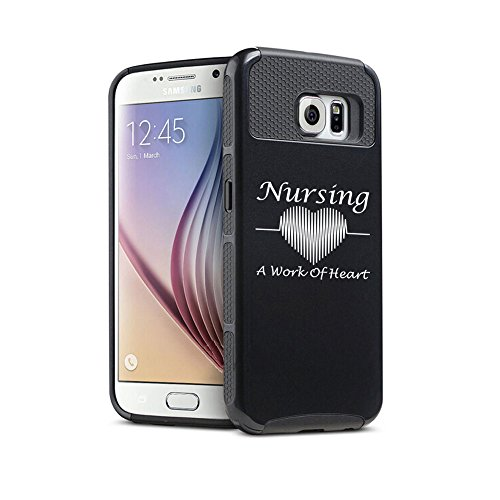 Samsung-Galaxy-S6-Edge-Plus-Shockproof-Impact-Hard-Case-Cover-Nursing-A-Work-of-Heart-Nurse
