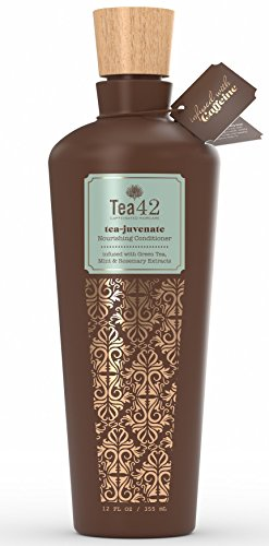 Premium Conditioner Made From Organic Green Tea Extract 12 oz, by Tea42 (Caffeine Extract Hair compare prices)