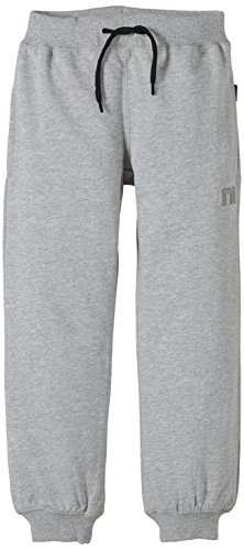 NAME IT SWEAT KIDS PANT UNBRUSHED R NOOS, Mutande Bambino, Grigio (Grey Melange), 86