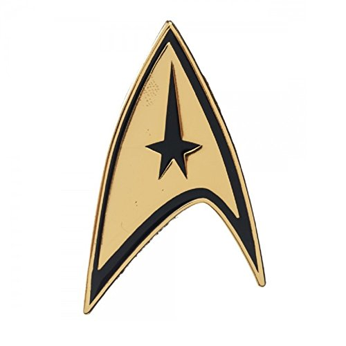 Star Trek Command Gold Lapel Badge Pin