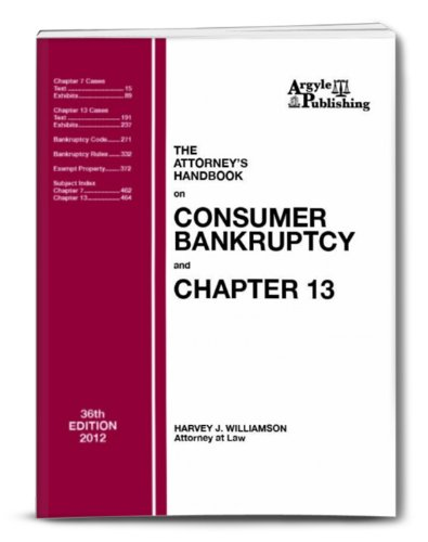 The Attorney's Handbook on Consumer Bankruptcy and Chapter 13