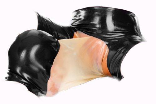 Die schwarzen Säcke unter den Augen des Kindes