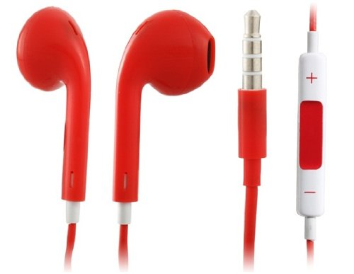 Best Shopper - Iphone 5 Ear Buds - Red