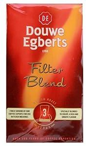 Douwe Egberts Filter Blend Ground Coffee, Medium Roast, 8.8-Ounce (Pack of 1) by Douwe Egberts