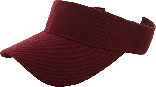 Maroon_(US Seller)Outdoor Sport Hat Sun Cap Adjustable Velcro (Shark Steam Pocket Head compare prices)