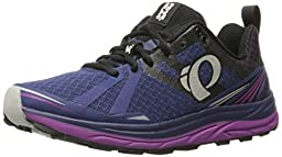 Pearl Izumi Women\'s W EM M 2 V3 Trail Runner, Deep Indigo/Black, 8.5 B US