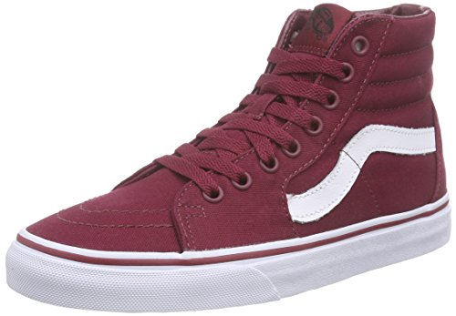 vans-sk8-hi-scarpe-da-ginnastica-base-unisex-adulto-rosso-canvas-cordovan-true-white-37