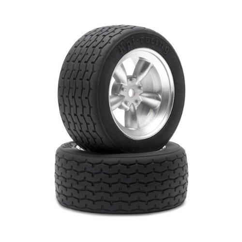Hpi Racing 3815 Vintage 5 Spoke Wheel, 26Mm/0Mm Offset, Matte Chrome