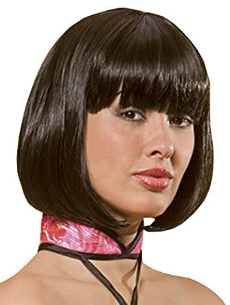 Sexy Short Bob Costume Wig - ONE SIZE