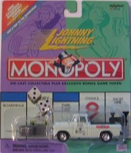 Buy Johnny Lightning 2000 Monopoly Water Works Chevy Cameo Truck