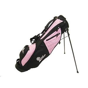 PALM SPRINGS Sunday Golf Bag w/stand Pink/Black