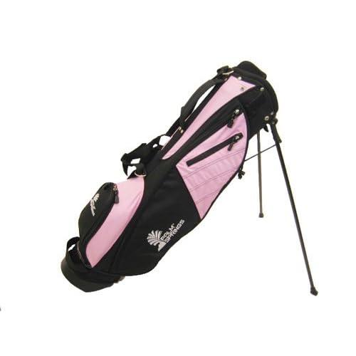 Amazon.com : PALM SPRINGS Sunday Golf Bag w/stand Pink