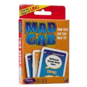 Mad Gab Picto-gabs Card Game From the Makers of UNO
