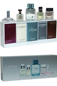 Calvin Klein Miniature Collection Euphoria Eau de Parfum/ Eternity Eau de Parfum/ CK Free Eau de Toilette/ Eternity Eau de Toilette and Euphoria Eau de Toilette - 10 ml (Set of 5)