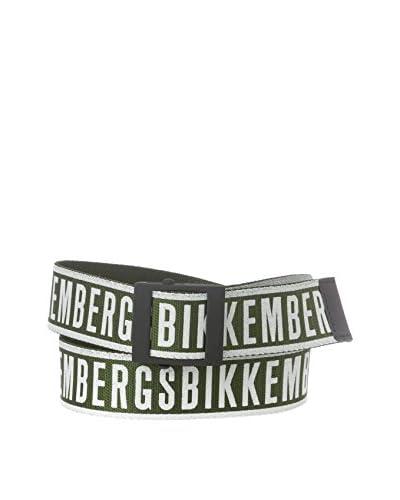 BIKKEMBERGS Cinturón Verde