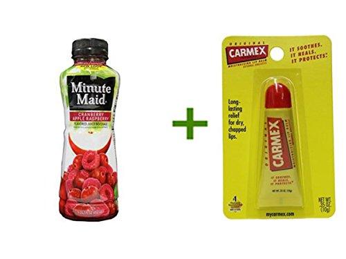 minute-maid-cranberry-apple-raspberry-juice-24-152oz-carmex-moisturizing-lip-balm-tubes-1ct