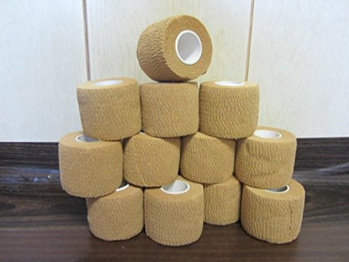 Self Adhesive Non Woven Cohesive Bandage Pack of 12