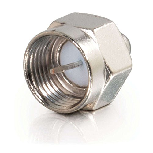 C2G / Cables To Go 40675 75 OHM F-Type Male Terminators - 10 Pack (Silver) (F Type compare prices)