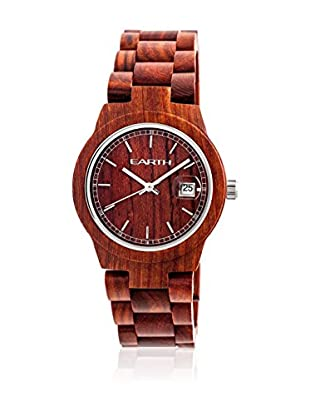 Earth Wood Sunglasses Reloj con movimiento japonés Unisex 48 mm