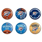OKLAHOMA CITY THUNDER 6 BUTTON SET Amazon.com