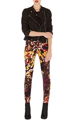 Blossom Print Jean