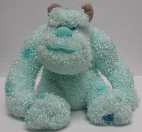 "Disney Monsters Inc 12"" Gumdrop Mint Sulley Plush by The Disney Store - 1"