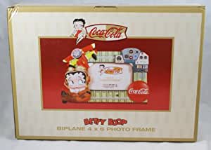 Betty Boop Coca-Cola BIPLANE 4 X 6 PHOTO FRAME