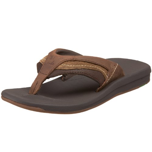 Sanuk Men's Switch Leather Sandal