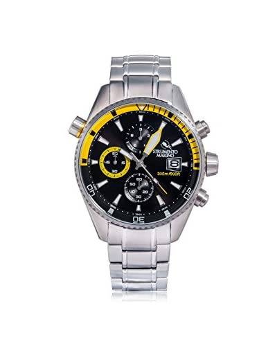 Strumento Marino Men's Black/Yellow SM113MB/SS/NR/GL Watch