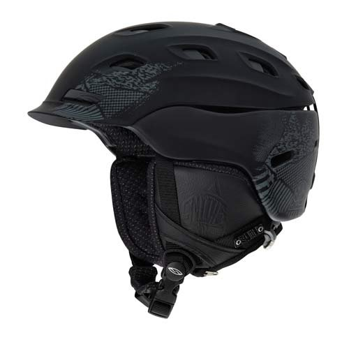Smith Optics Vantage Helmet (Small/51-55-cm, Impossibly Black)