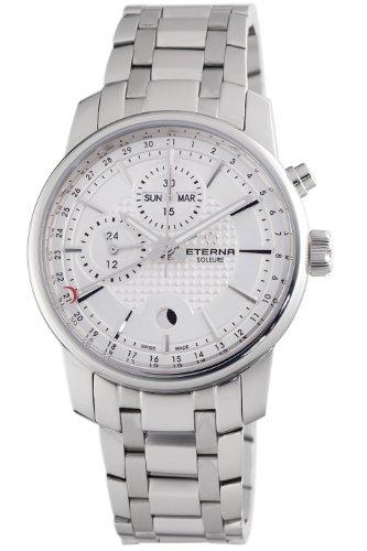 Eterna Men's 8340.41.17.1225 Soleure Moonphase Chronograph Automatic Swiss Watch