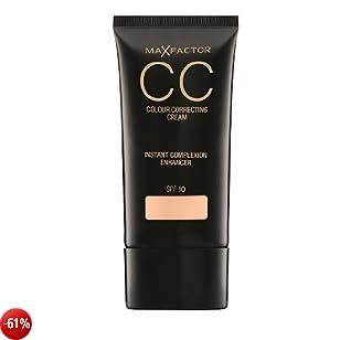 Max Factor - CC Cream Colour Correcting, n° 75 Tanned, 1 pz. (1 x 30 g)